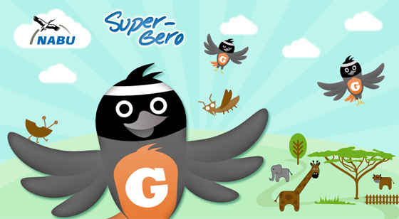 Super-Gero Flash Game for NABU