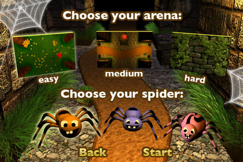 Bugs&Spiders Version 1.1